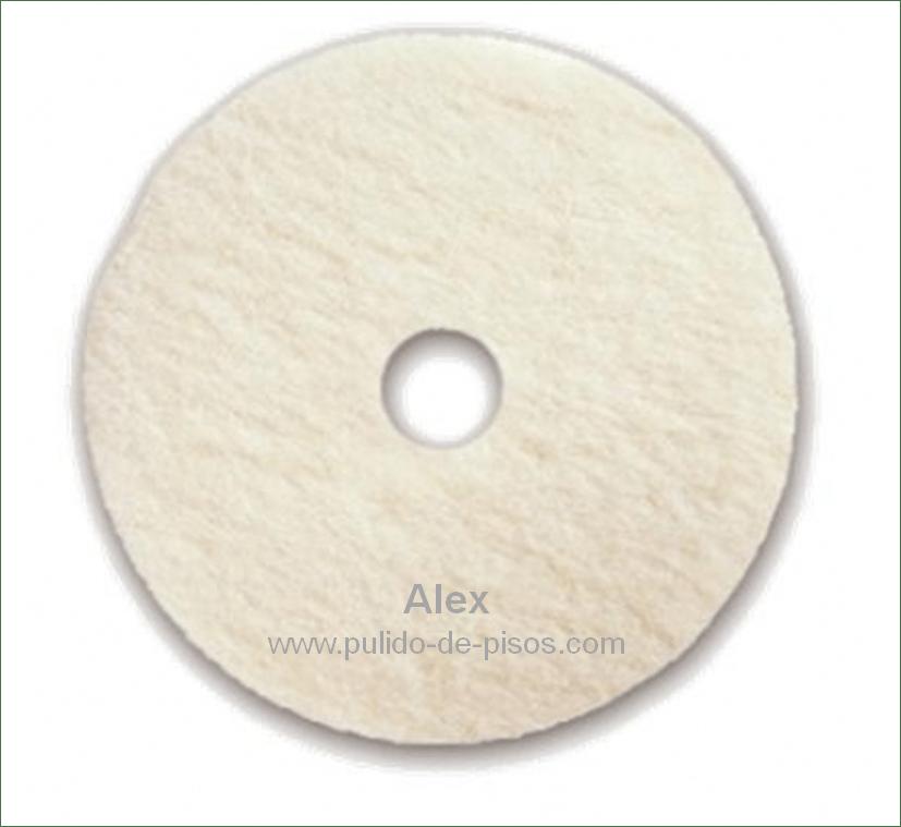 Disco blanco para abrillantar pulido de pisos alex for Cera para pisos de marmol