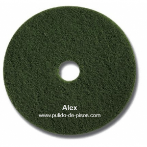 Disco verde para lavar pulido de pisos alex for Desmanchar marmol